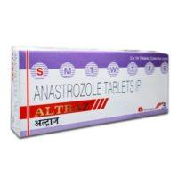 Altraz (Anastrozole 1 mg) Alkem 14 tab